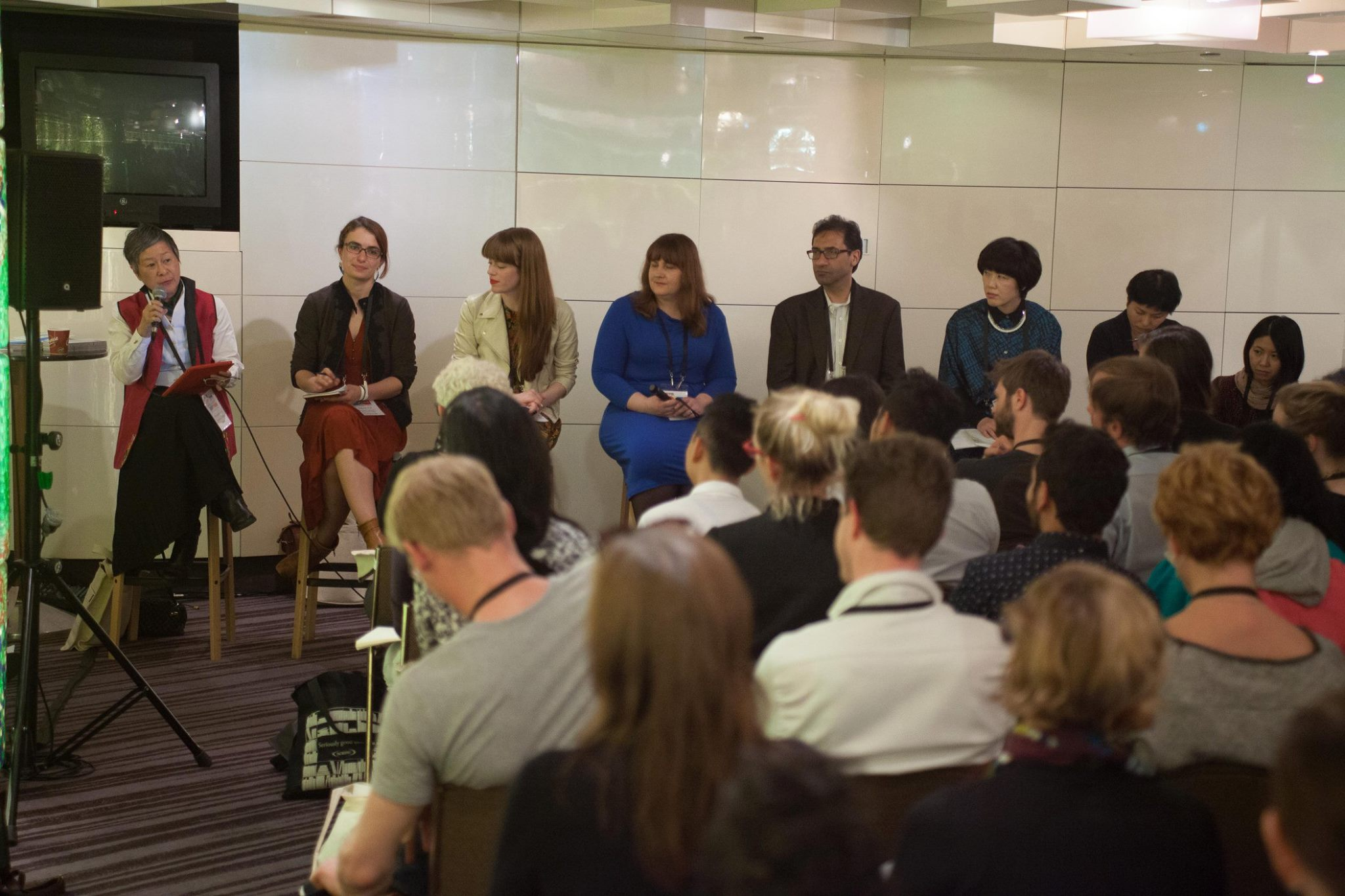 Panel presentation about artist-in-residence programmes for performing artists, IETM Satellite Meeting Melbourne, Australia, 2014